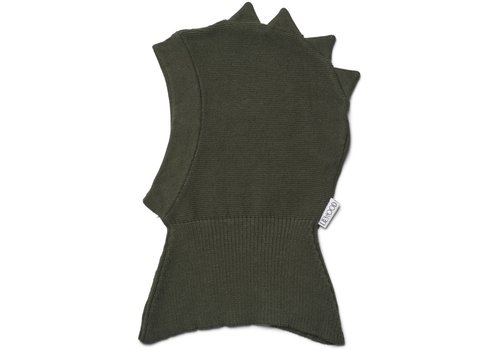 Liewood Mads knit hat Dino hunter green