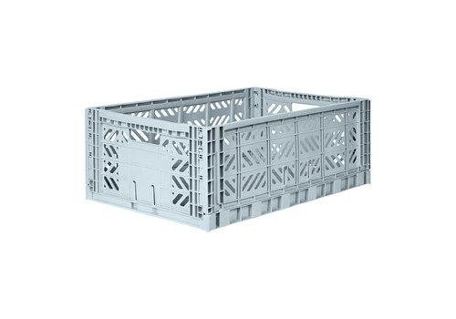 Aykasa Foldable crate maxi pale blue
