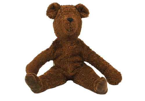 Senger Knuffel Bear large brown