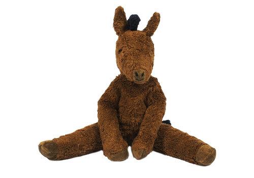 Senger Knuffel Horse large brown