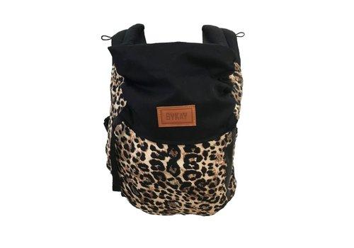 ByKay Draagzak Click Carrier Reversible - Black/ leopard