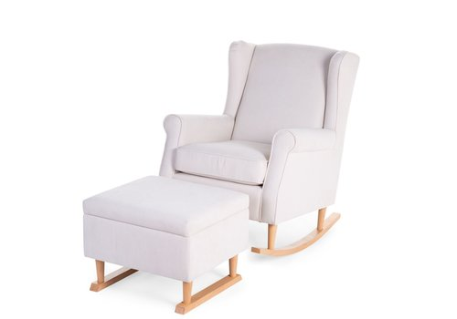 Childhome Rocking sofa chair Natural offwhite