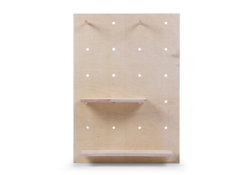 Childhome Pegboard wall shelf