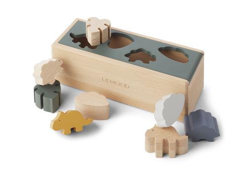 Liewood Midas puzzle box Dino mix