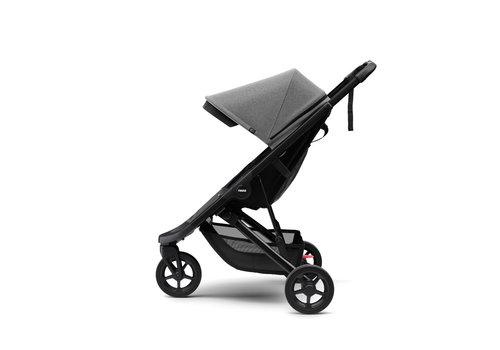 Thule Spring Stroller black Grey melange ACTIE
