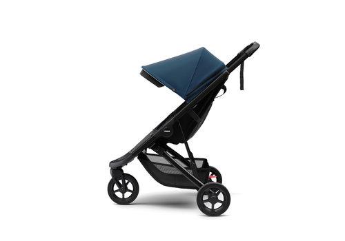 Thule Spring Stroller black Majolica blue ACTIE
