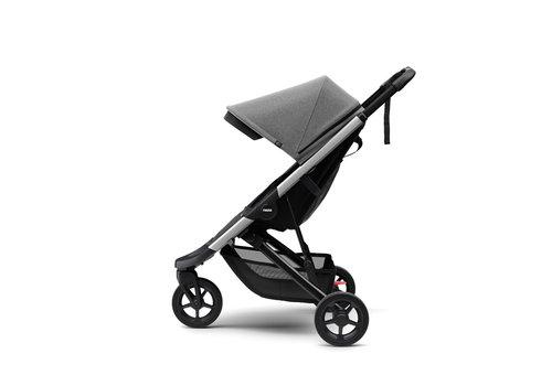 Thule Spring Stroller Aluminium Grey melange ACTIE