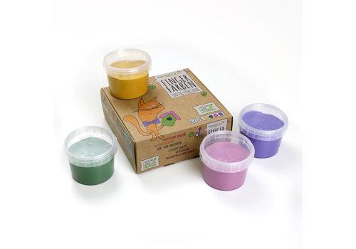 Neogrün Finger paint set 'Luka' yellow | green | pink | violet