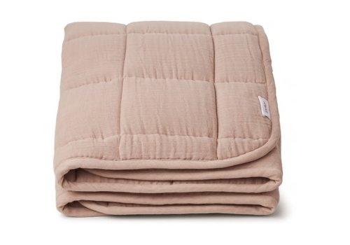 Liewood Mette quilted blanket Rose