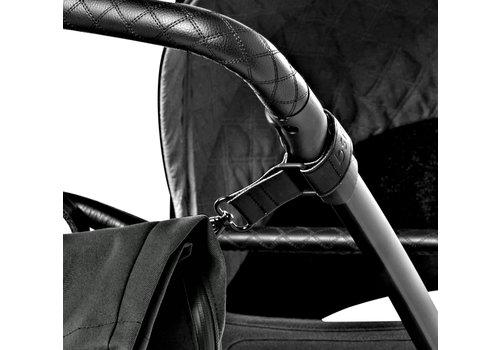 Dusq leather stroller straps - Black
