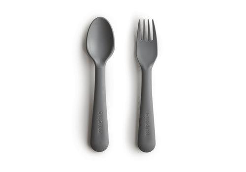 Mushie Fork & Spoon Smoke