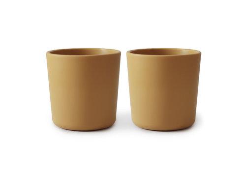 Mushie Cup Mustard 2pcs