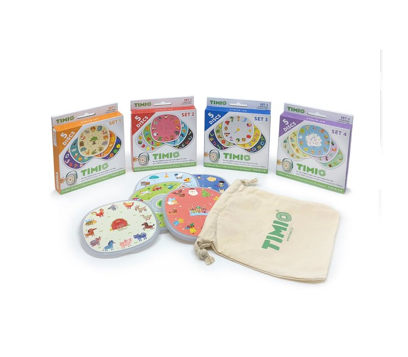 Timio Disc pack set 1