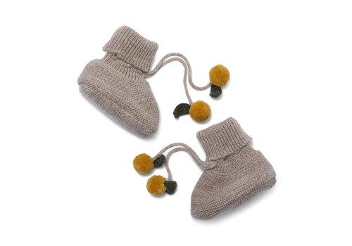Konges Sløjd Tomani Knit Boots Creamy white