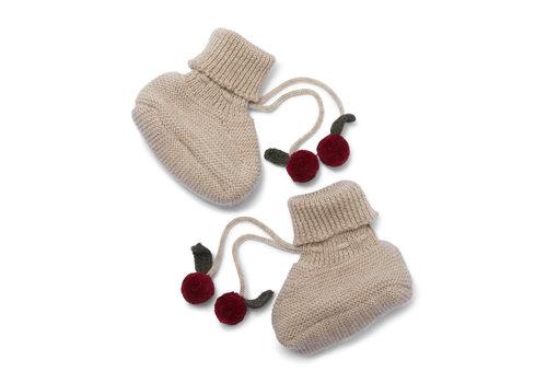 Konges Sløjd Tomani Knit Boots Paloma Brown
