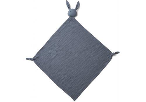Liewood Robbie multi tetradoek Rabbit blue wave