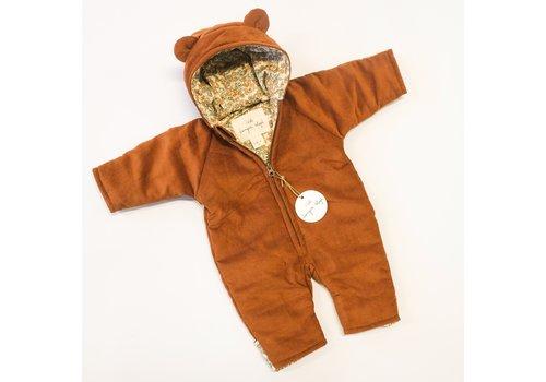 Konges Sløjd Teddy suit Cognac/Orangerie