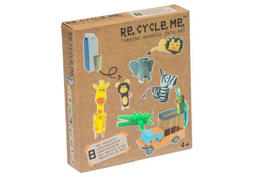 Re-Cycle-Me Dieren knutselpakket