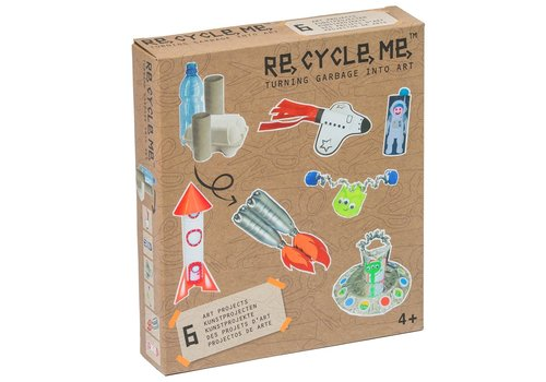 Re-Cycle-Me Ruimte knutselpakket