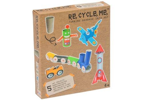 Re-Cycle-Me Knutselen met wc-rollen