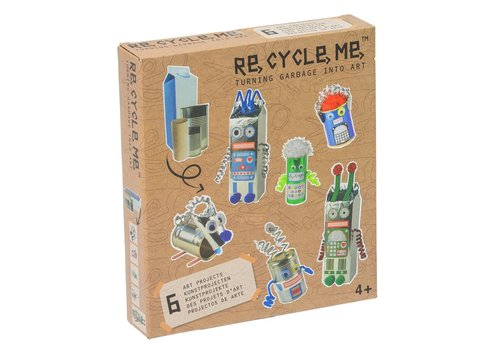 Re-Cycle-Me Robots World