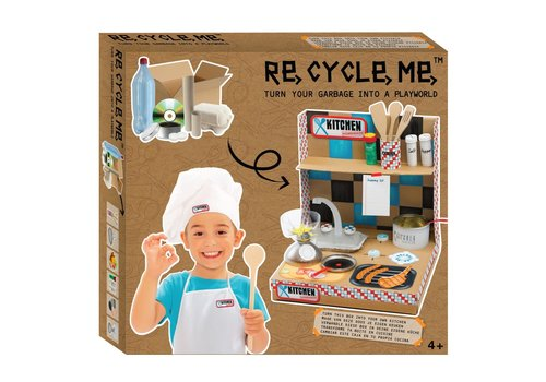 Re-Cycle-Me Create your own pretend world - Kitchen