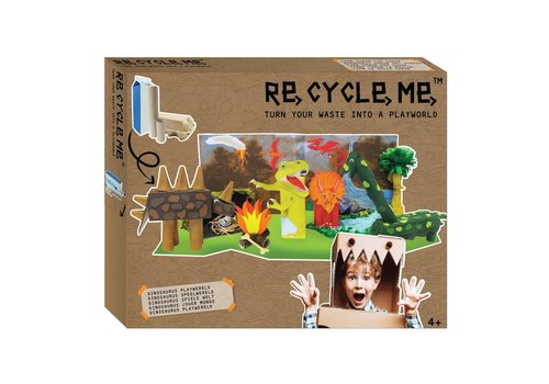 Re-Cycle-Me Create your own playworld - Dino