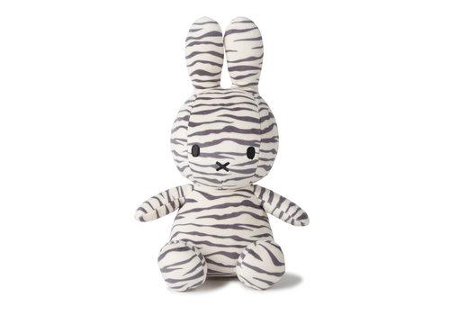 Nijntje Miffy Sitting all-over Zebra print - 23cm
