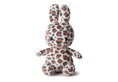 Nijntje Miffy Sitting all-over Leopard print - 23cm