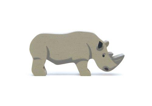 Tender Leaf Toys Safaridier neushoorn