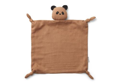 Liewood Agnete cuddle cloth Panda tuscany rose