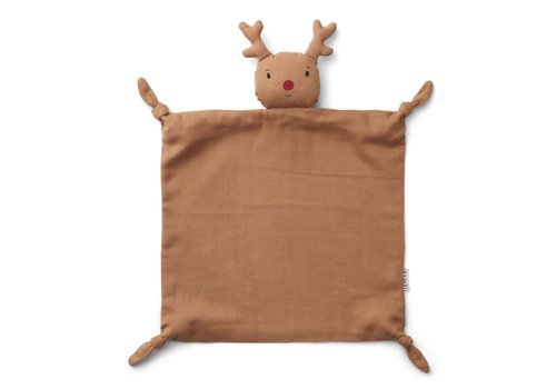 Liewood Agnete cuddle cloth Reindeer tuscany rose