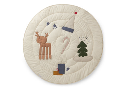Liewood Gitta activity blanket Holiday mix