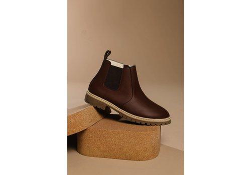 BabyMocs Little Explorer Boots thick lining - Dark Brown