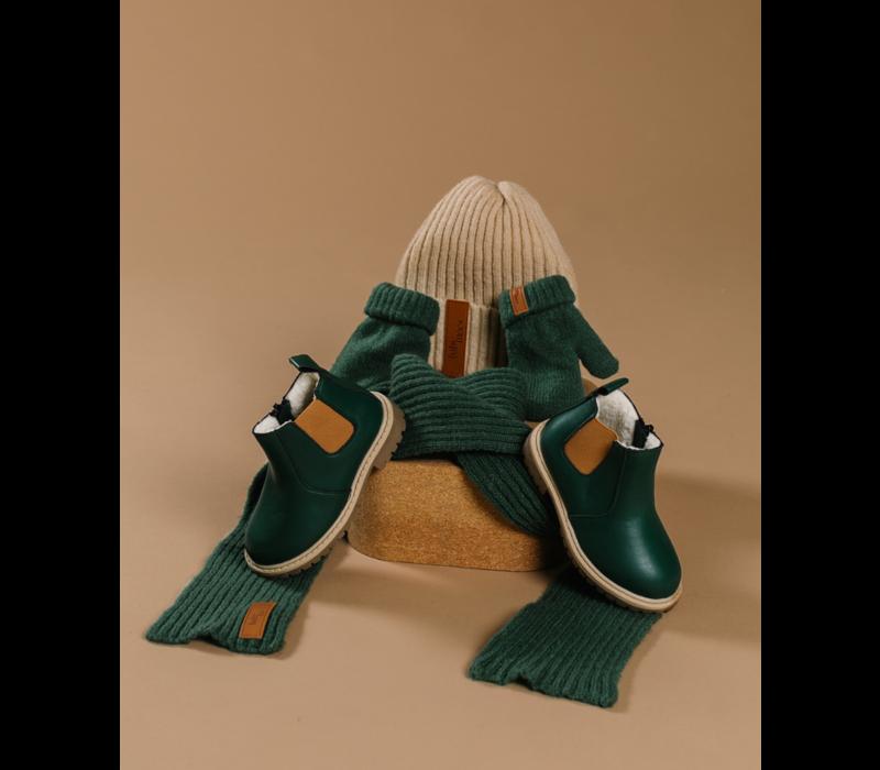 Little Explorer Boots thick lining - Green