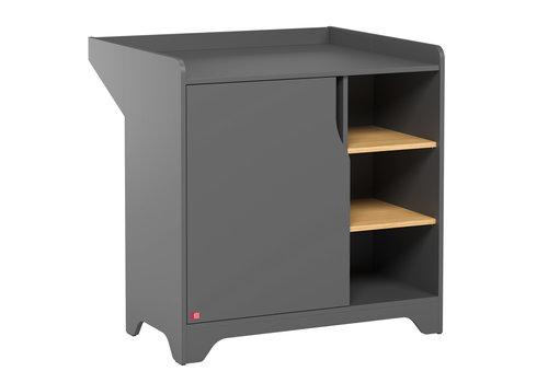 Vox LEAF Dresser with changing unit graphite/oak