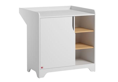 Vox LEAF Dresser with changing unit white/oak