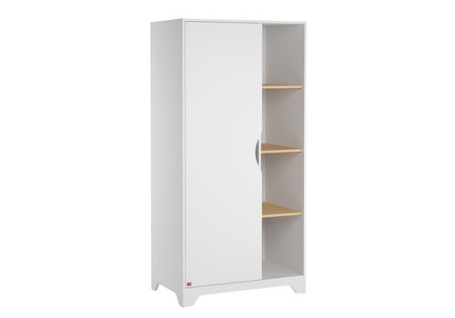 Vox LEAF Kleerkast white/oak