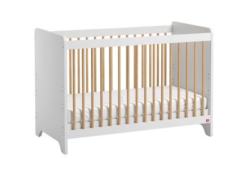 Vox LEAF Cot bed 60x120cm white/oak