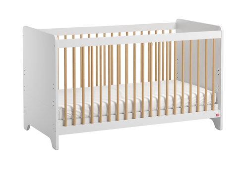 Vox LEAF Cot bed 70x140 white/oak