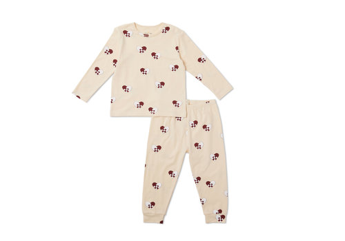 Konges Sløjd Christmas Kids Pyjamas - Hearts