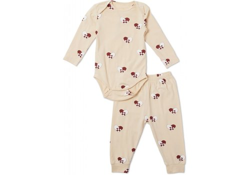 Konges Sløjd Christmas Baby Pyjamas - Hearts