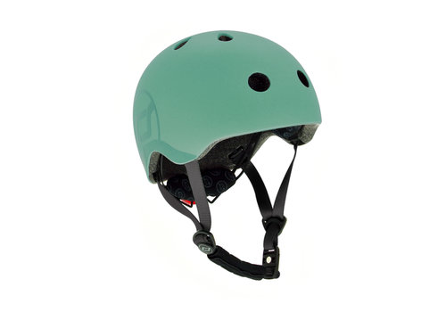 Scoot and Ride Kids Helmet S - Forest (51-55cm)