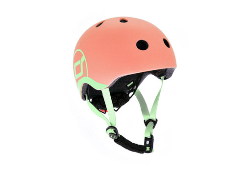 Scoot and Ride Baby Helmet XS - Peach (45–51cm)