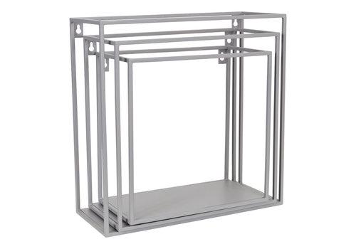 KidsDepot Wallbox set van 3st Grey