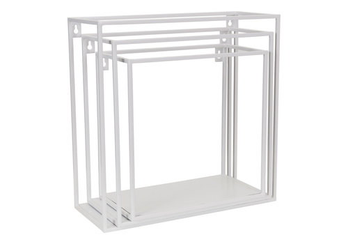 KidsDepot Wallbox set van 3st White