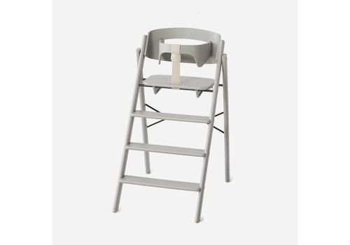 KAOS Klapp high chair beech grey + safety rail