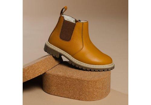 BabyMocs Little Explorer Boots thick lining - Mustard