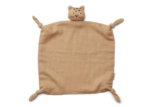 Liewood Agnete cuddle cloth Leopard apricot