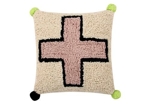 Lorena Canals Cushion Cross 38x38